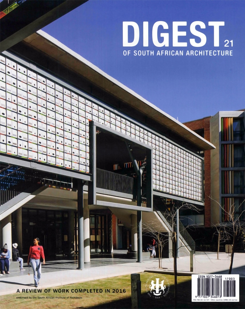 DIGEST OF SA ARCH | cover page